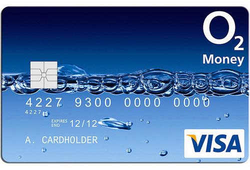 O2 Visa card