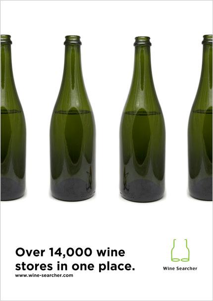 Wine Searcher poster design
