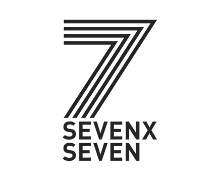 7x7 logo design