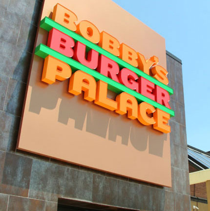 Bobby's Burger Palace logo design