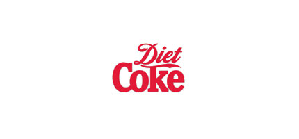Diet Coke logo design
