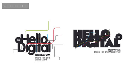Hello Digital visual identity