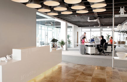 McCadden Design office Belfast