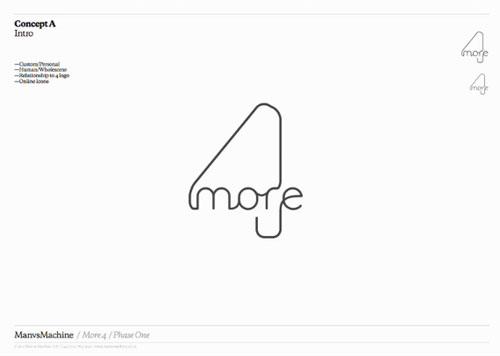 More4 logo option