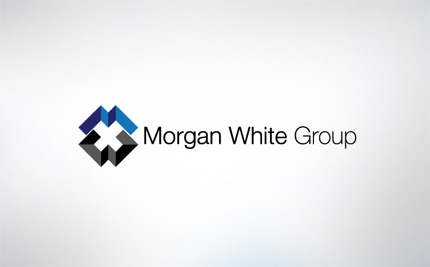 Morgan White Group logo design