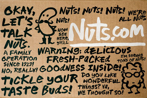 Nuts.com identity