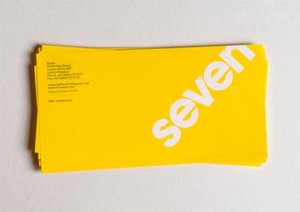 Seven logo design