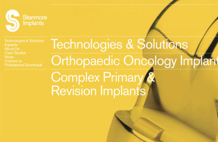 Stanmore Implants website design