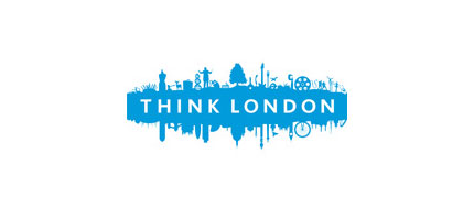 Pense o logotipo de Londres