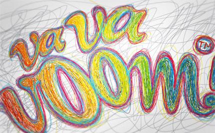 Va Va Voom logo design