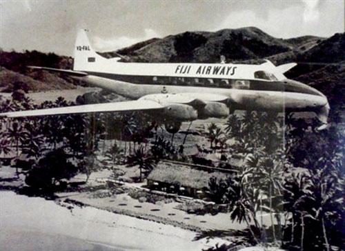Fiji Airways plane