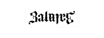 balance ambigram logo