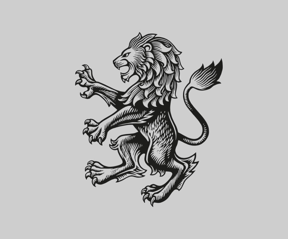 Aston Villa lion