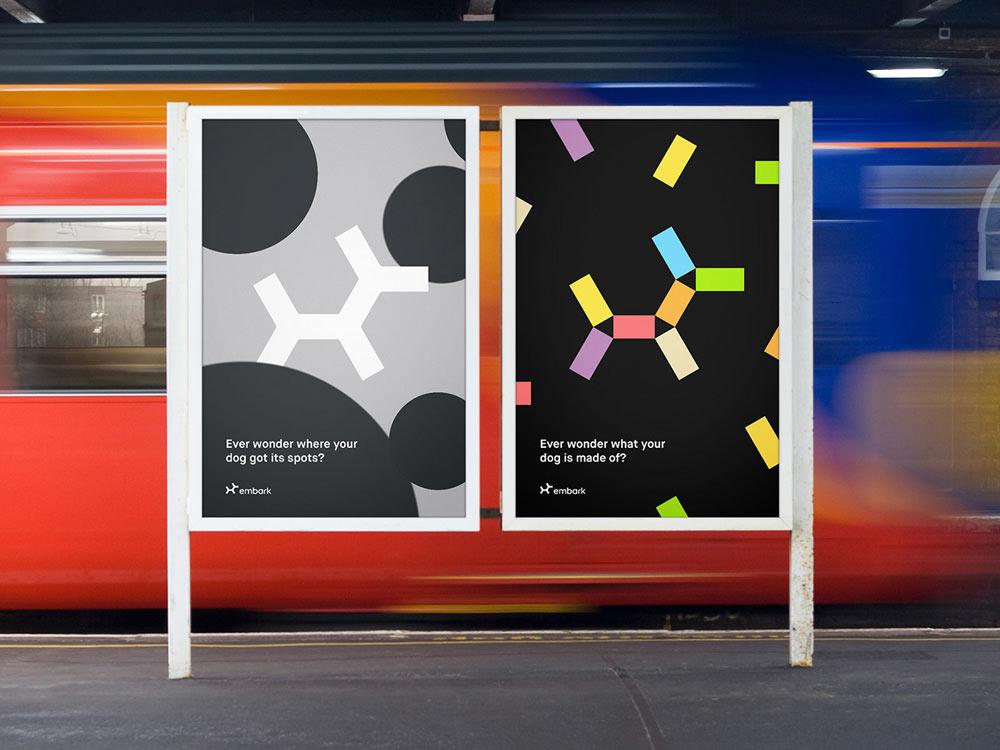 Embark posters