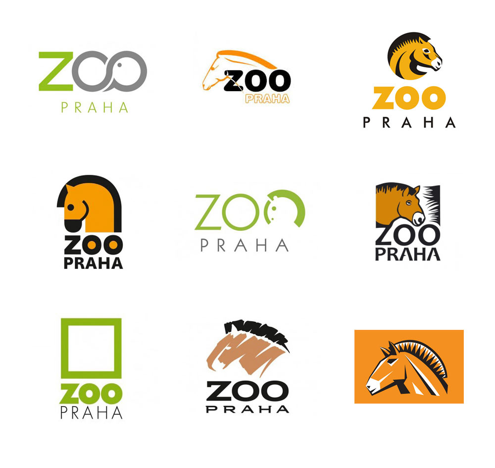 Prague Zoo logo competition