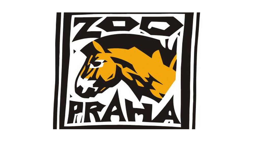 Prague Zoo logo, old