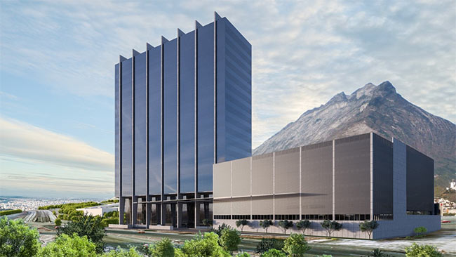Albia office building, Mexico