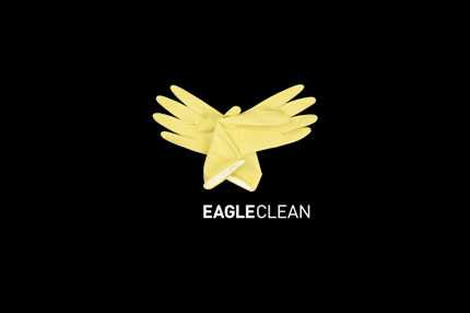 Eagle Clean logo design