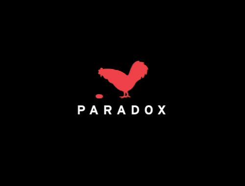 Фото с надписью парадокс