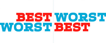 best worst logos
