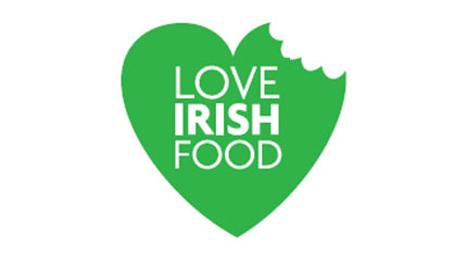 Love Irish Food logo design concept