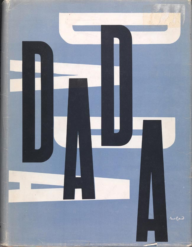 Dada Painters and Poets cover design by Paul Rand