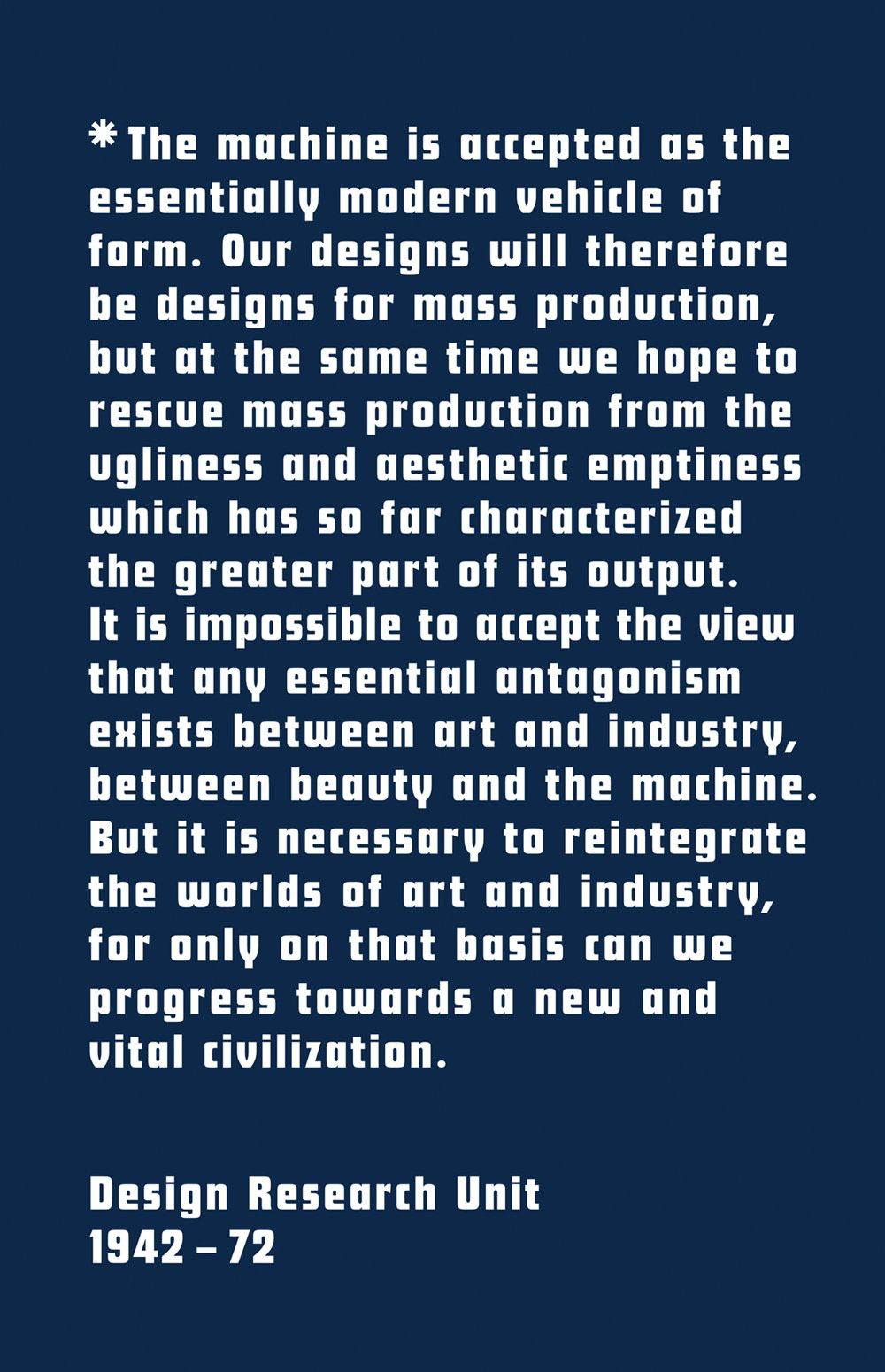 Design Research Unit monograph cover