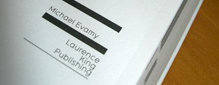 logo book michael evamy