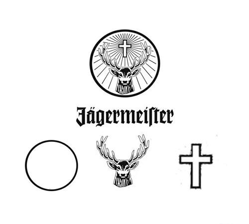 Jägermeister logo meaning