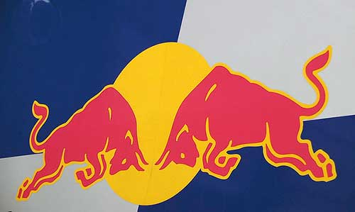 Red Bull colours