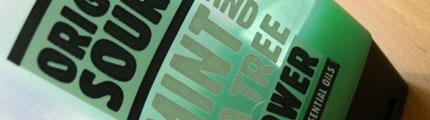 shower gel logo