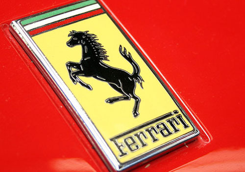 Car Logos With Horses On Them Ferrari horse logo