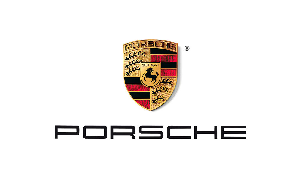 origins and making of the porsche crest logo design love. Black Bedroom Furniture Sets. Home Design Ideas