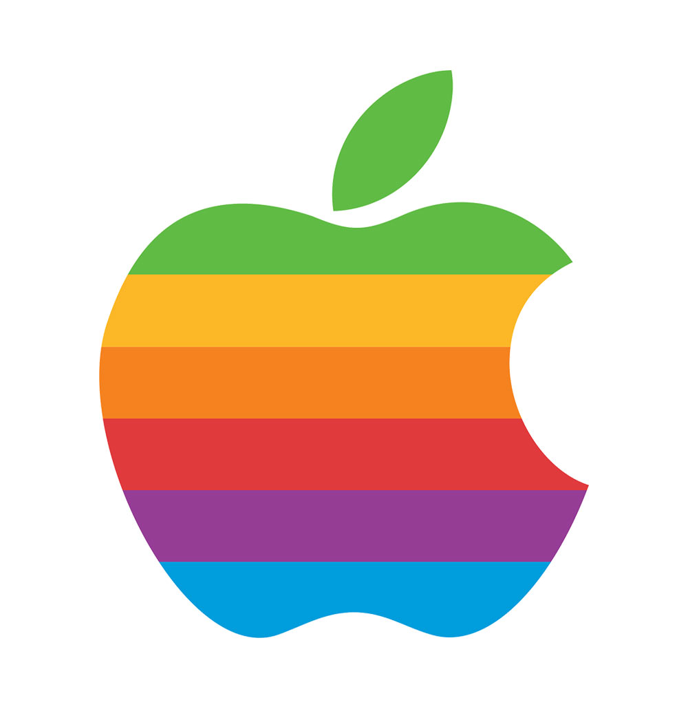 Apple logo designed by Rob Janoff