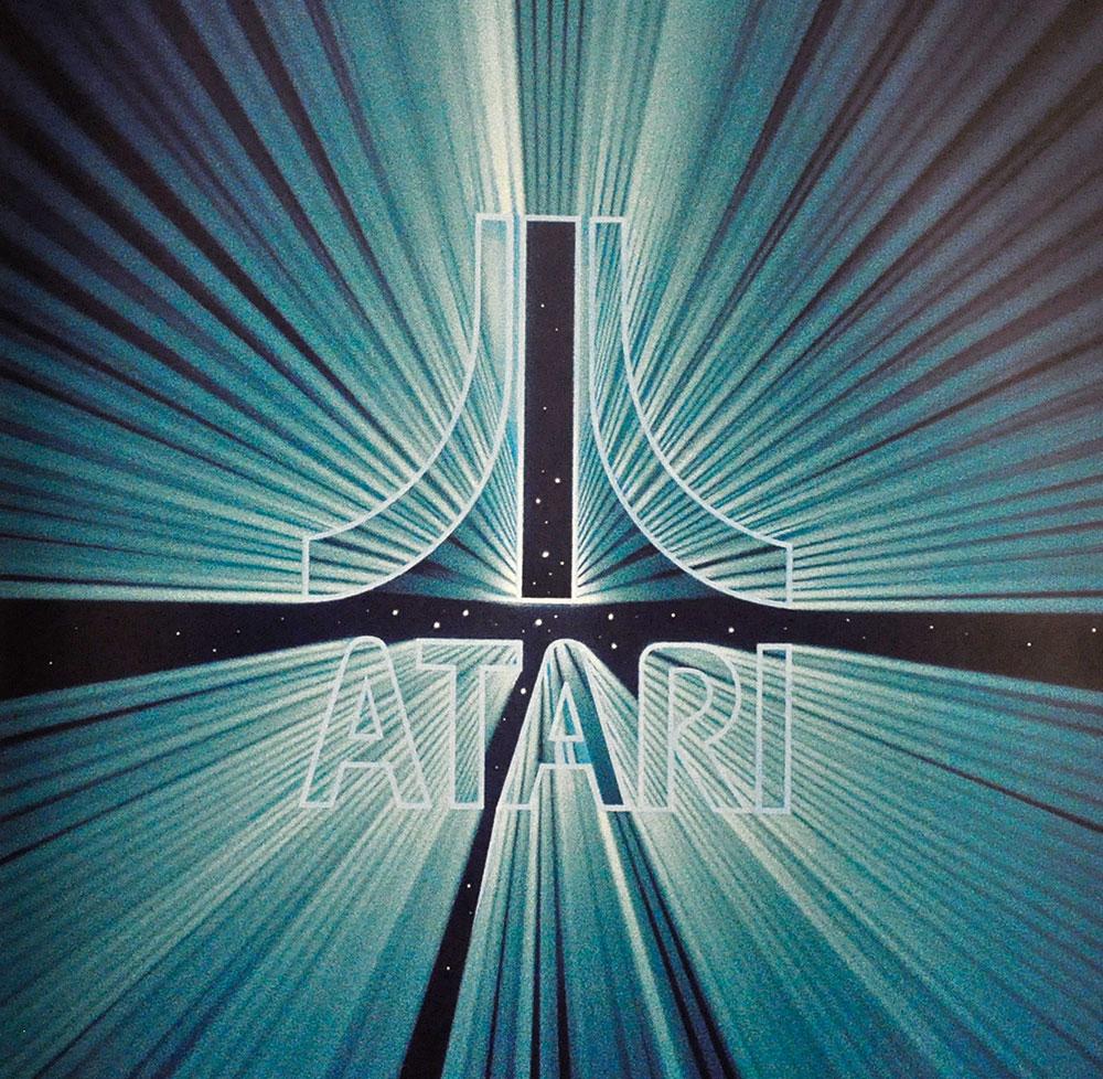 Atari logo art