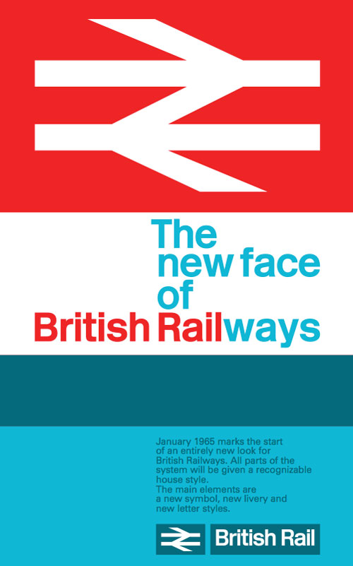 British Rails Double Arrow Logo By The Design Research Unit