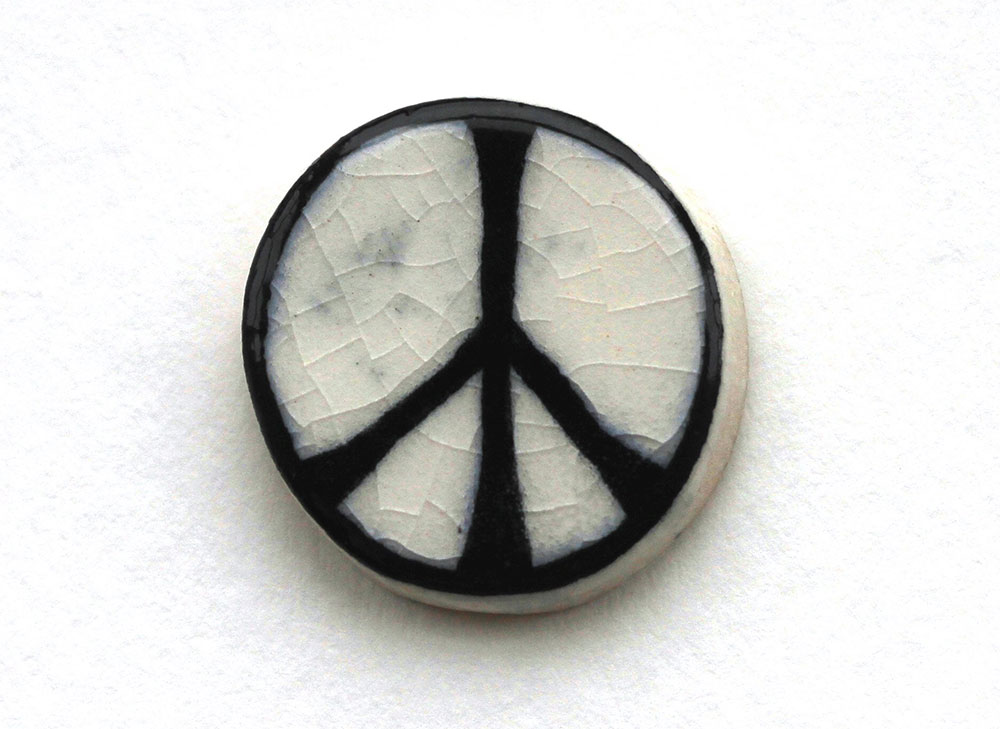 Clay CND badge