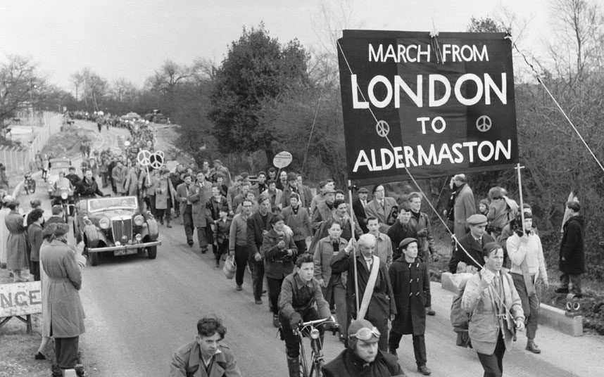 London to Aldermaston march, 1958