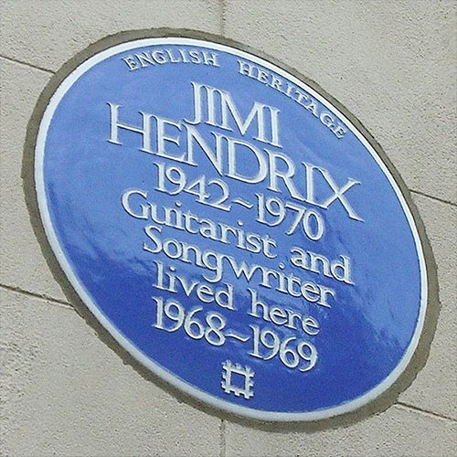 English Heritage Jimi Hendrix