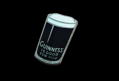 Guinness badge
