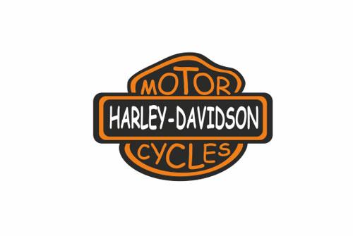 Harley Davidson logo in Comic Sans
