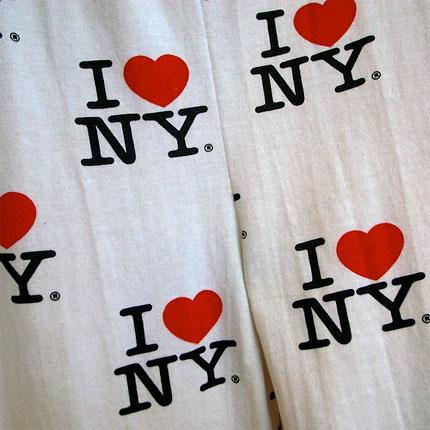 I Love New York license plate