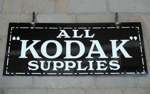 Kodak signage