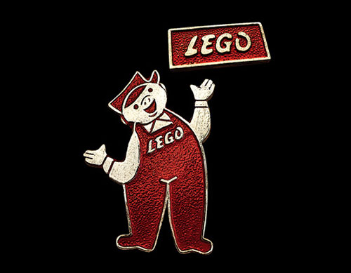 Lego badge