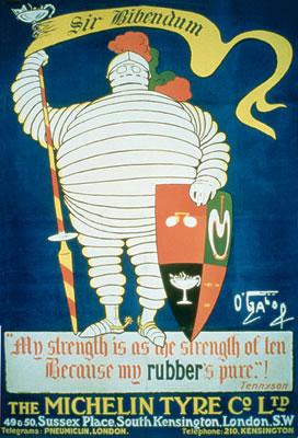 Michelin Man Bibendum, 1905