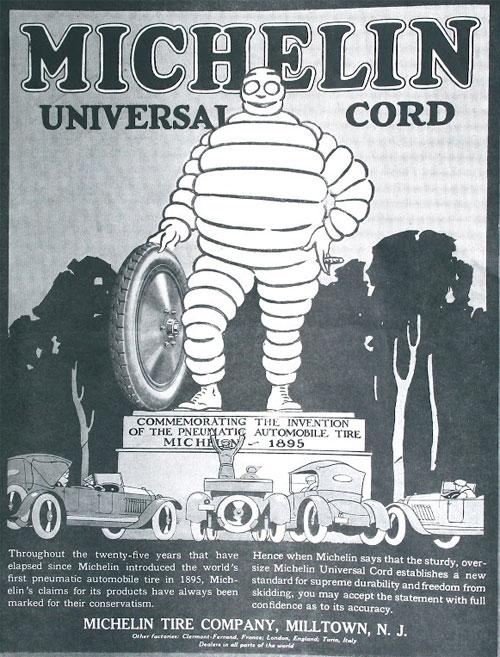 Michelin Milltown poster