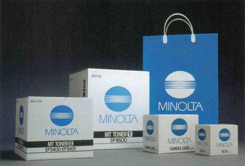 Minolta corporate identity