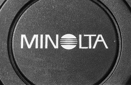 Minolta logo Saul Bass