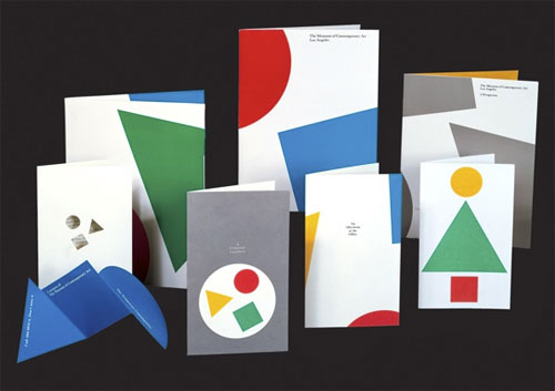 MOCA stationery design
