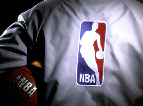 NBA logo jacket